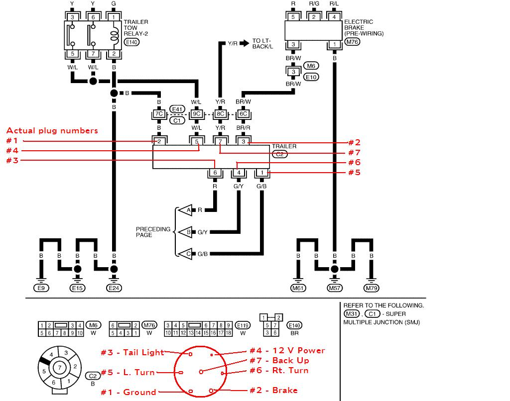 2008 Nissan Frontier Wiring Harness Library 2004 Xterra Stereo Attachment 05 Diagram Further 2009 07 041841 Bcm As