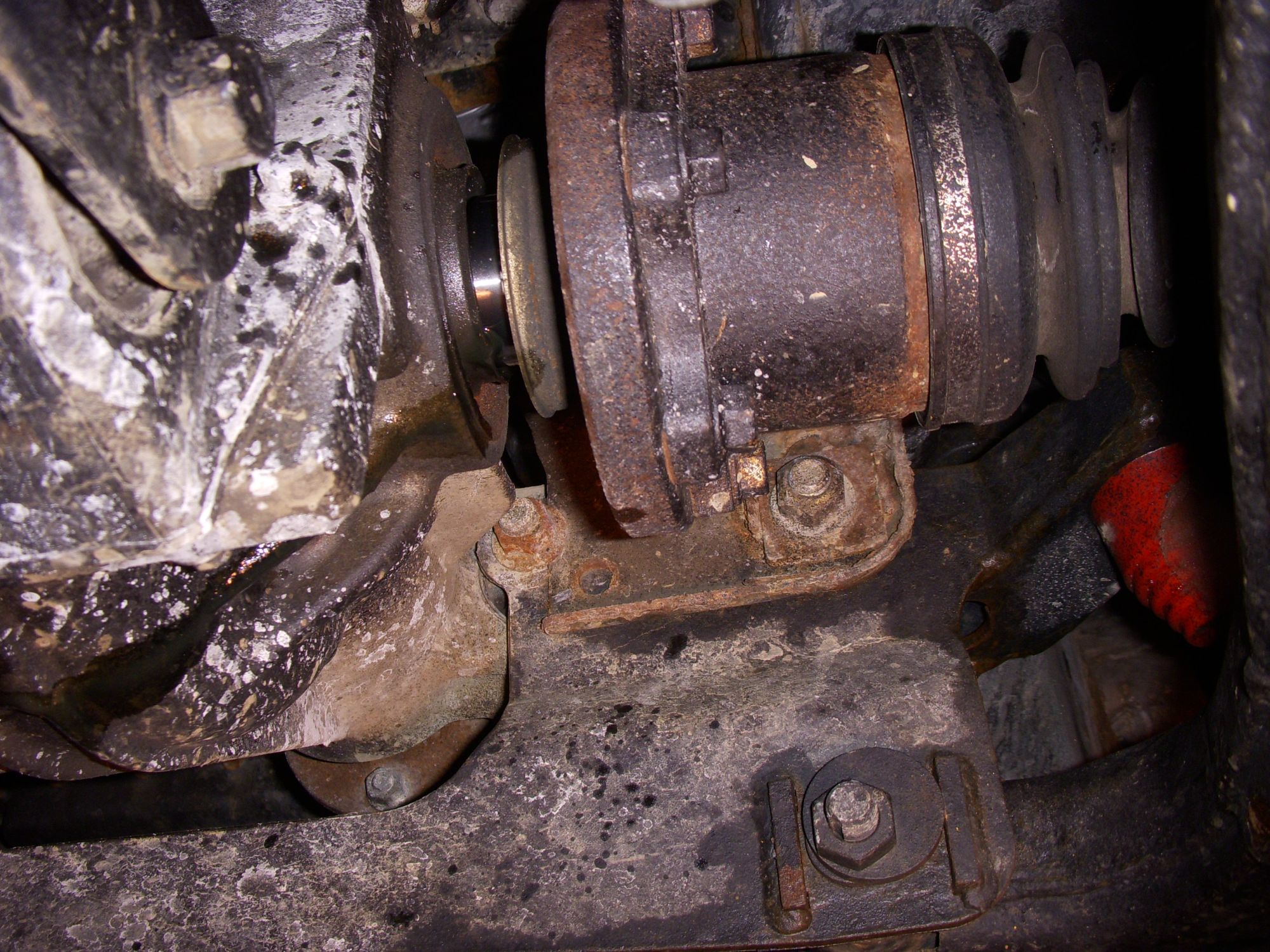 nissan titan front axle popped out