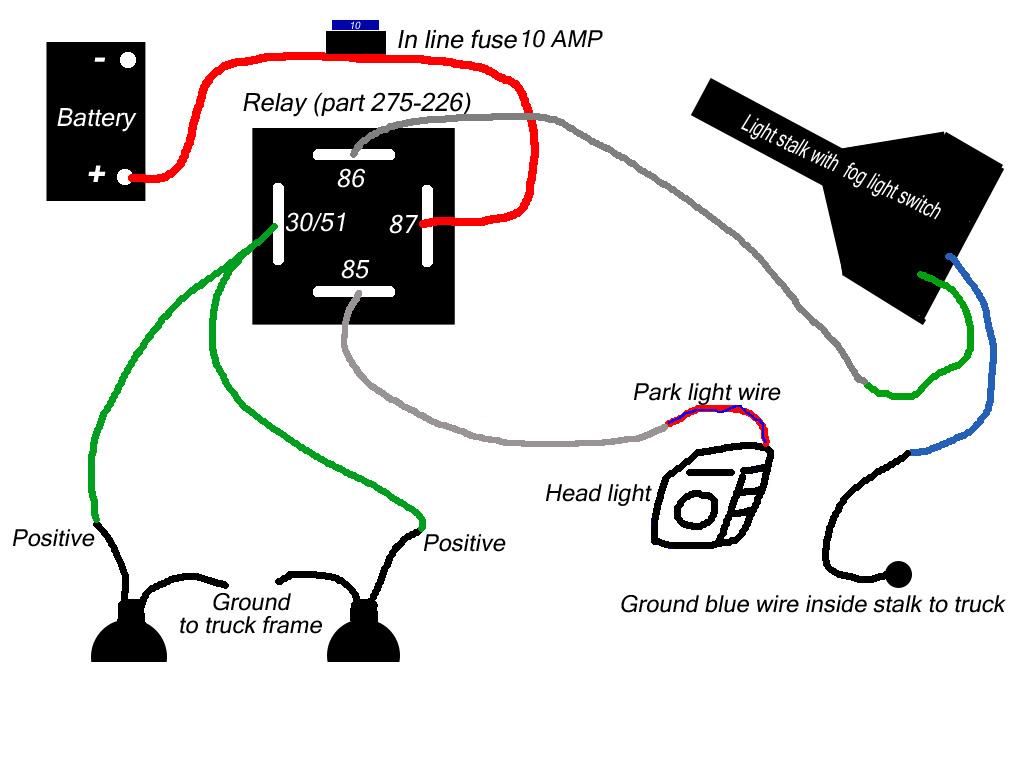 how to: wire 04 xe non prewired fog light kit | nissan titan forum  nissan titan forum
