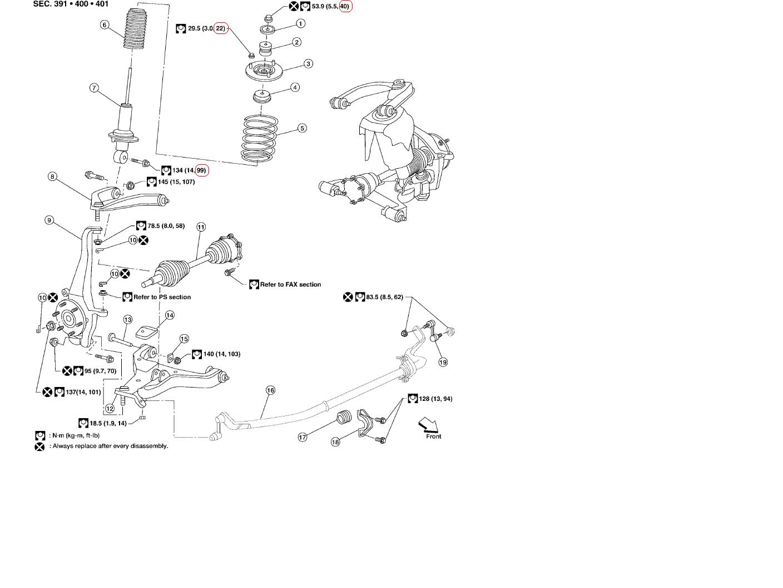 ford suspension parts diagram