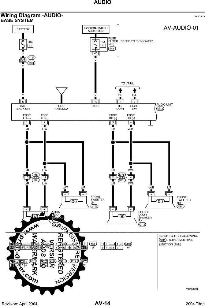 factory radio wiring diagram non fosgate nissan titan forum click image for larger version front 908 jpg views 1787 size 120 0
