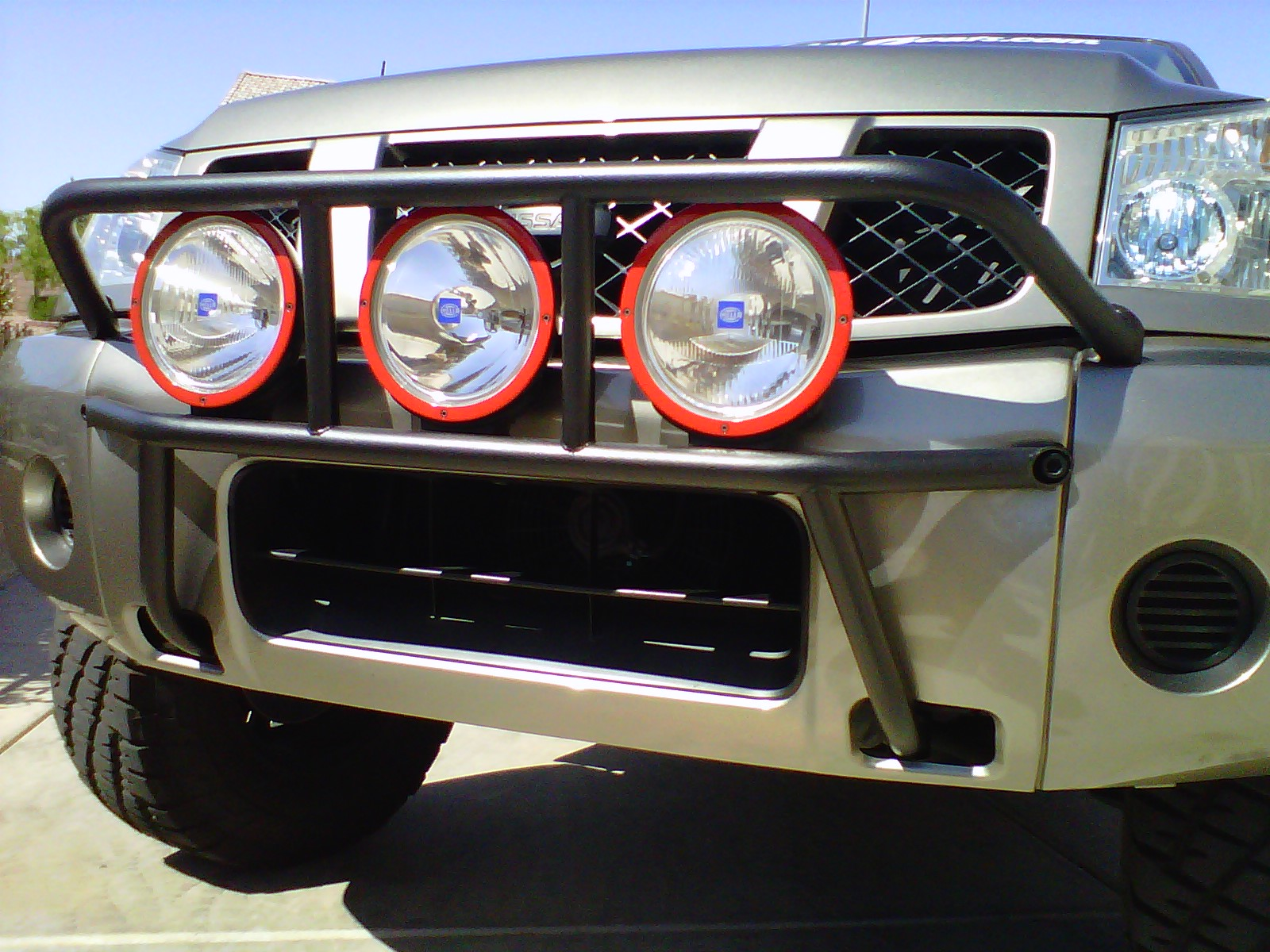 Prerunner style light bar nissan titan forum click image for larger version name img00786 20110504 1506g views mozeypictures Gallery