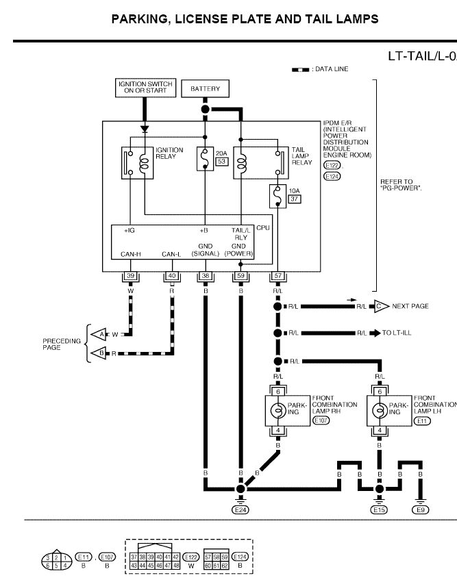 Nissan Headlight Wiring Diagram