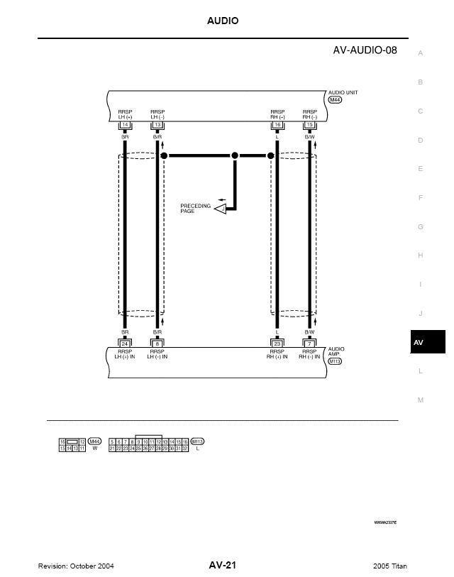 nissan titan headlight wiring diagram titan a v schematics nissan titan forum  titan a v schematics nissan titan forum